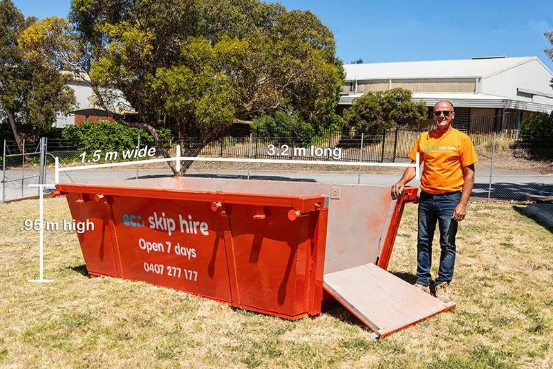 skip bin hire 4 cubic metres