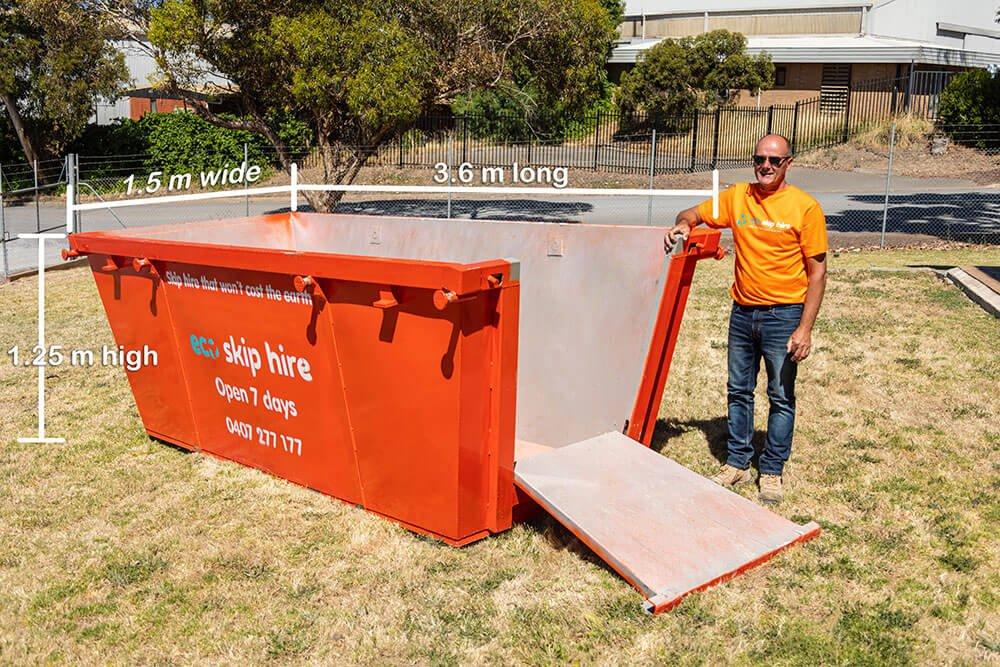 skip bin hire 6 cubic metres